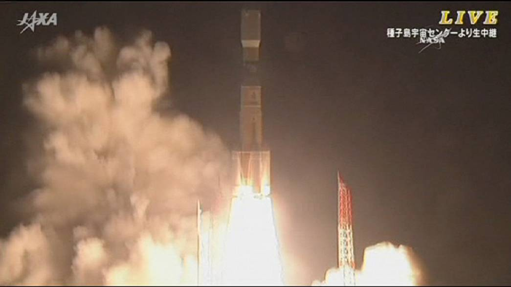 Japanese cargo spacecraft heads for ISS