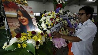 Funerals held for Bangkok bomb dead