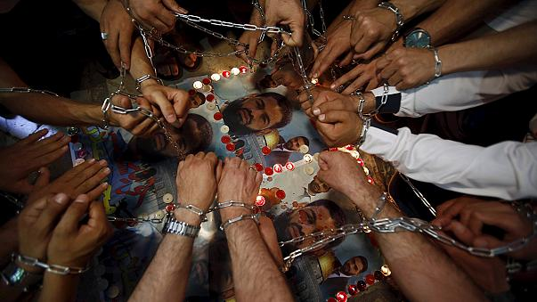Szabadon engedik az éhségsztrájkoló palesztin foglyot