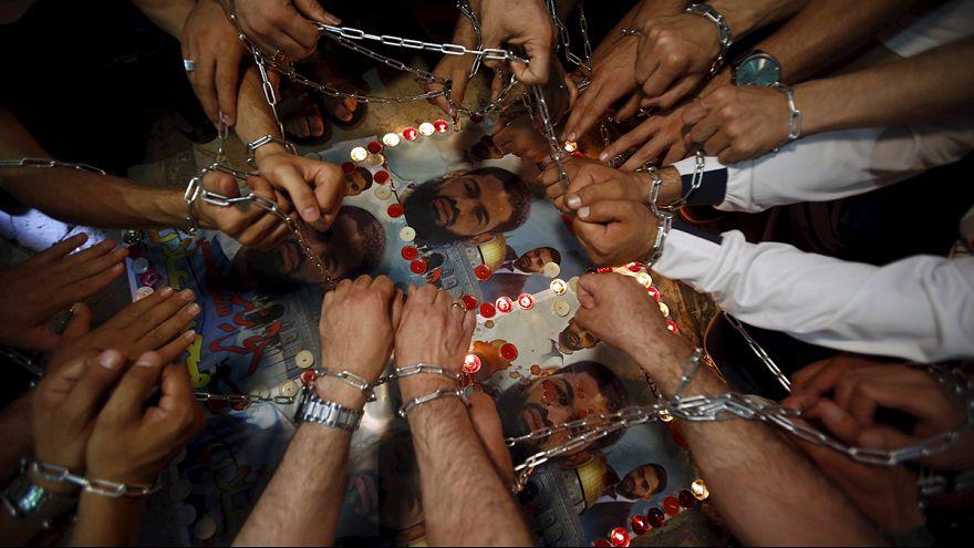 O palestiniano, Mohammed Allan, suspende greve de fome
