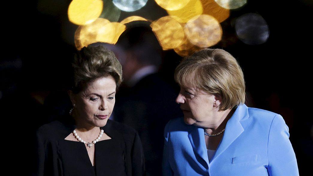 Merkel'den Brezilya çıkarması