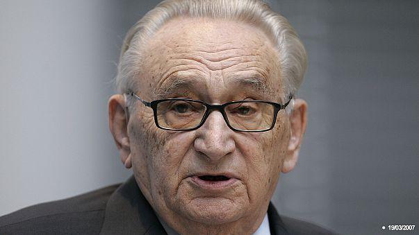 SPD-Legende Egon Bahr stirbt mit 93 Jahren an Herzversagen