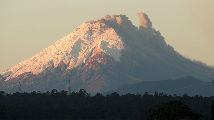 Ecuador's Cotopaxi volcano awakens after 75 years