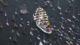 SAIL Amsterdam 600 tekneyle başladı