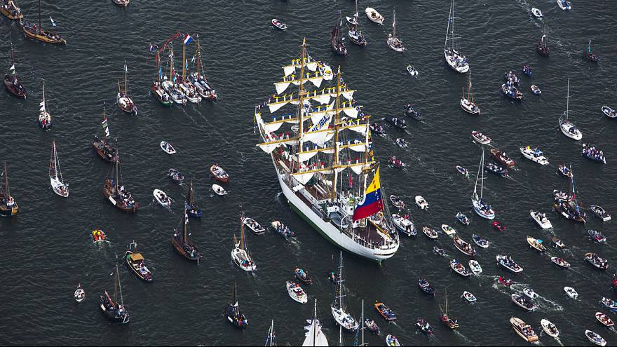Sail Amsterdam kicks off