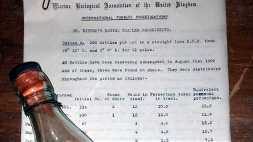 World's oldest message in a bottle confirmed after 109-year voyage