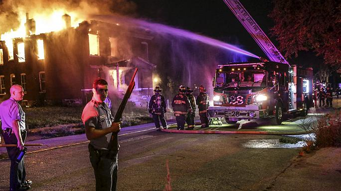 St Louis: nine arrested in disturbances