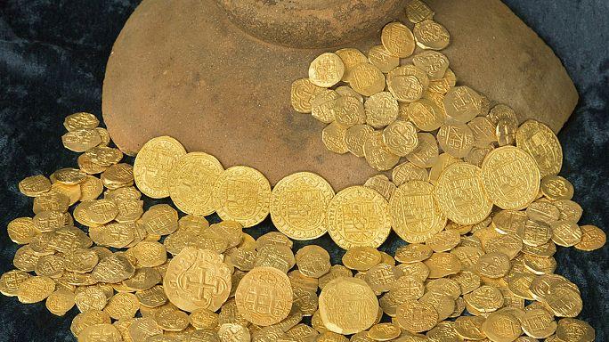 Floridai kincsvadászok 1,2 milliárd forintnyi aranyat találtak a tengerben