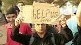 La vague de migrants touche la Macédoine