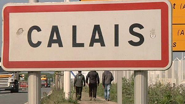 "Французский Кале- ""магнит"" для беженцев"