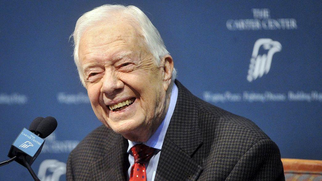Jimmy Carter combate mais um cancro