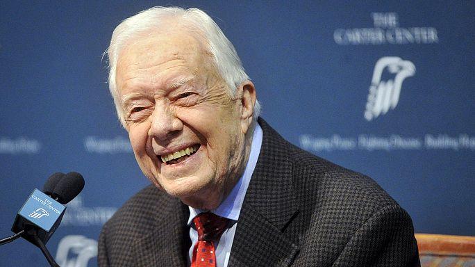 Jimmy Carter kanser tedavisine başladı
