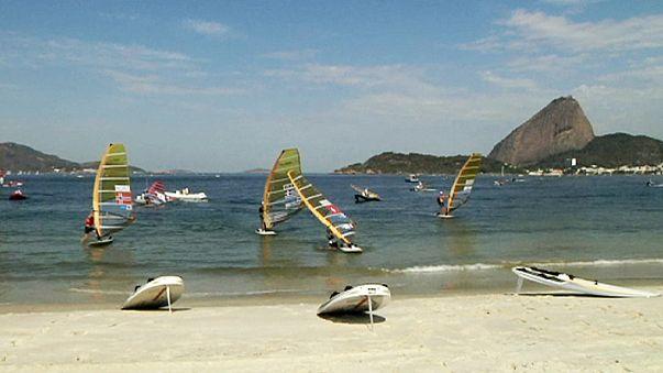 Rio : les épreuves de voile en eaux troubles