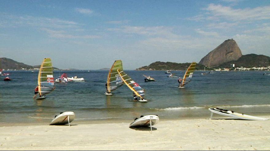 Rio 2016: windsurfer in ospedale dopo un test event nelle acque inquinate