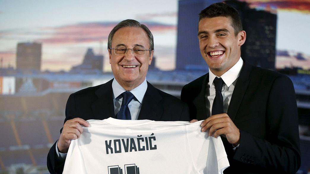 Calciomercato: Jonathan Rodriguez in prestito a La Coruna, primo allenamento per Kovacic