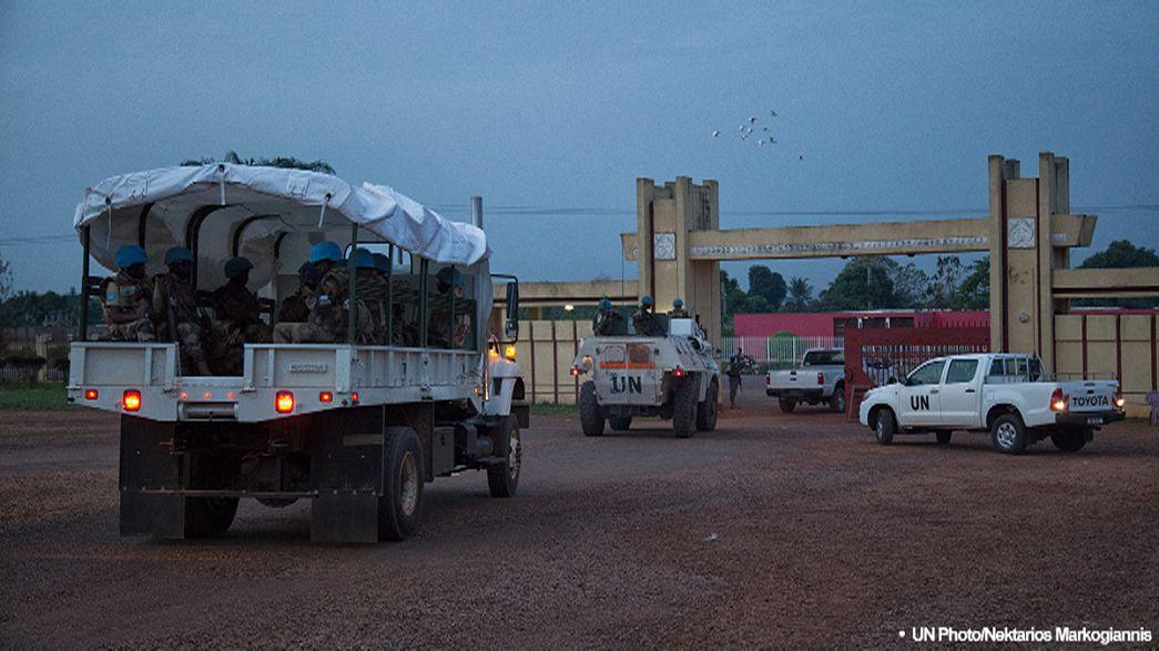 Escândalos sexuais com capacetes azuis na República Centro-Africana
