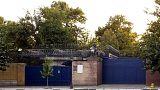 Wiedereröffnung der britischen Botschaft in Teheran