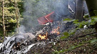 در برخورد دو هواپیما در اسلواکی هفت نفر جان باختند
