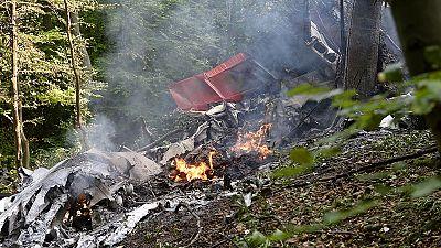 Slowakei: 7 Tote bei Flugzeugzusammenstoß in der Luft