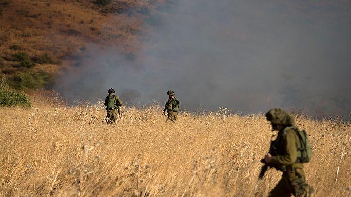 Israel ataca posições militares sírias nos Golã