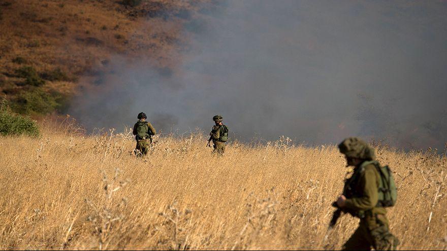 Israël lance une offensvie contre l'armée syrienne sur le Golan