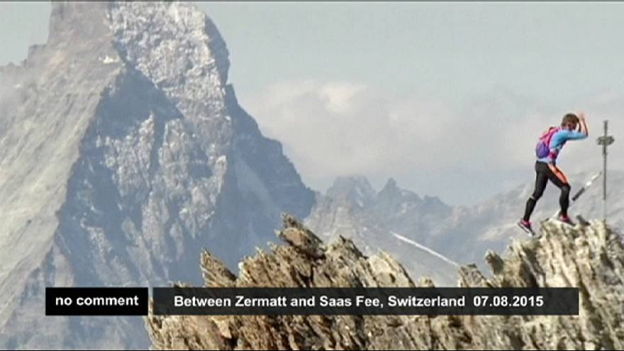 Alpler'de rekor koşu