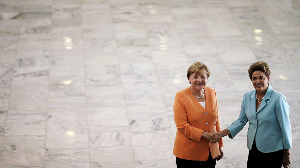 Brasilien: Merkel hofft auf Fortschritte beim Freihandelsabkommen