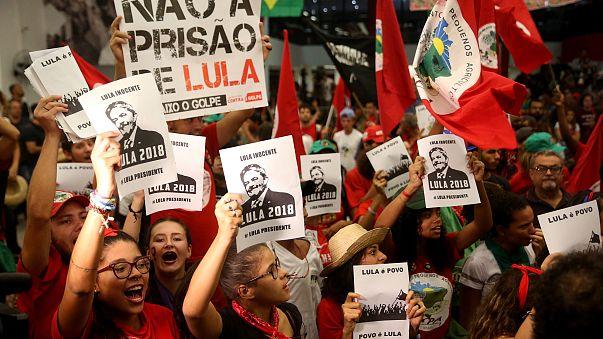 Image: Sao Paulo protest