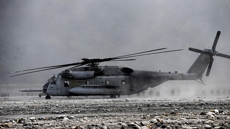 Image:  U.S. Marine CH-53 helicopter