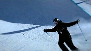 Rolland y Logan, o los astros de la nieve en los Juegos de Invierno