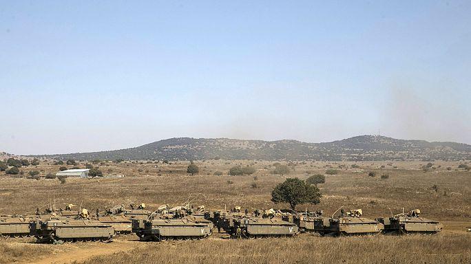 Напряженная ситуация на сирийско-израильской границе