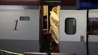 Tiroteo con heridos en un tren francés