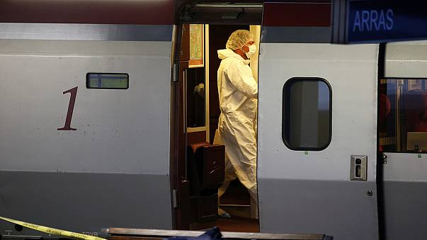 American passengers overpower armed attacker on French train