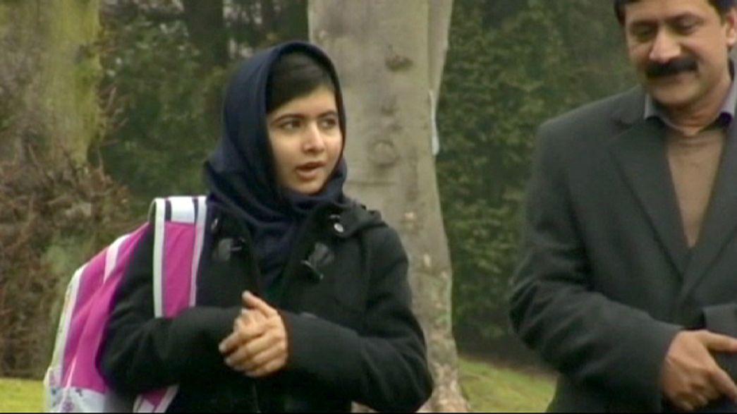 Malala sobresale como estudiante en el Reino Unido