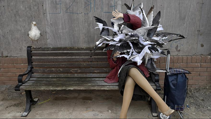 Banksy'in distopya tema parkı Dismaland'a büyük ilgi