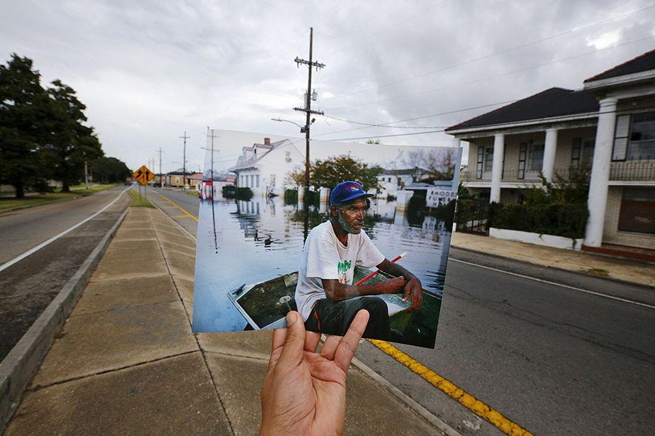 Une décennie plus tard : des photos très créatives, pour mieux souligner l'étendue de la catastrophe Katrina à la Nouvelle-Orléans.