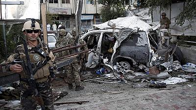 US NATO contractors among 12 killed by Kabul car bomb