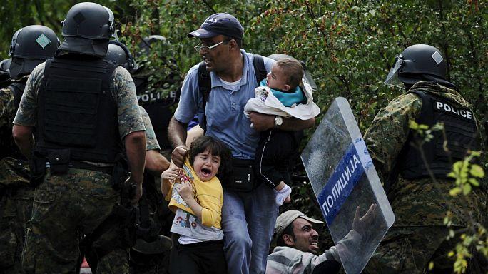 تفاقم أزمة اللاجئين على الحدود المقدونية مع اليونان