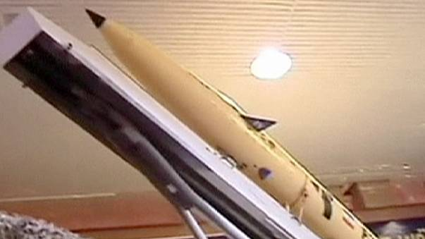 Iran unveils new surface-to-surface missile