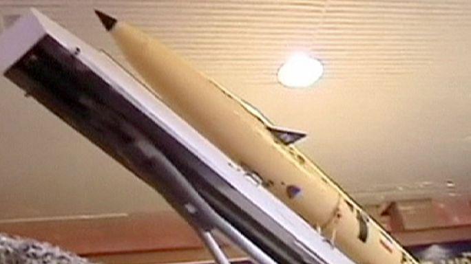 Új rakétát mutattak be Iránban
