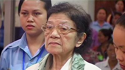 Khmer Rouge 'First Lady' Ieng Thirith dies