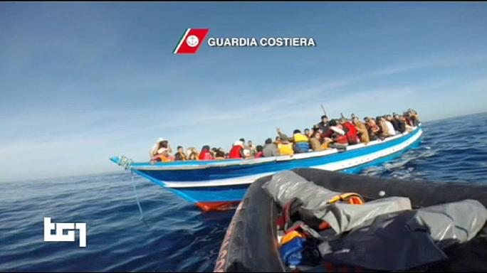 Major Italian rescue mission for 3,000 migrants adrift off Libya