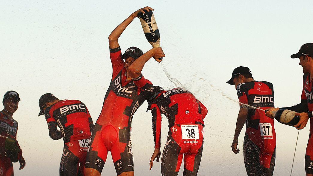 Vuelta: alla BMC la cronosquadre inaugurale, che non vale però per la generale