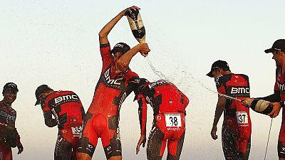 Vuelta: BMC vence em dia de passeio