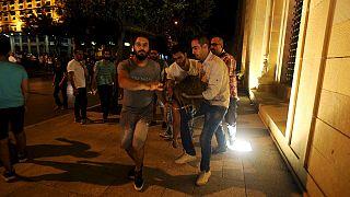 'You stink' - Müllkrise im Libanon: Tränengas gegen Demonstranten