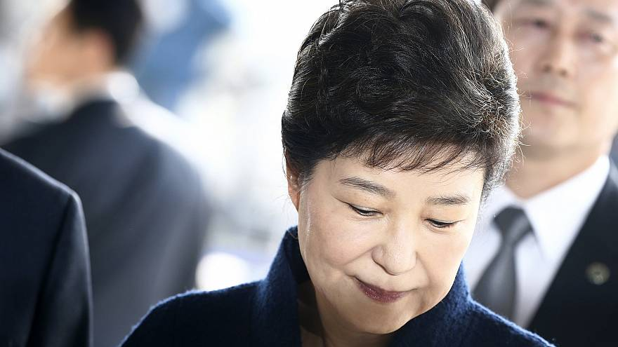 Image: Impeached South Korean former President Park Geun-hye arrives to the