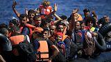 Grécia: Lesbos submersa por milhares de migrantes