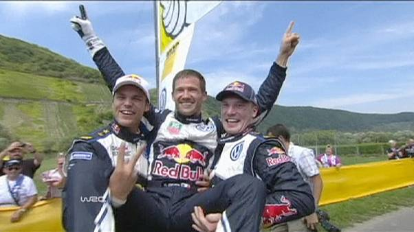 Ogier on course for third World Rally Championship title