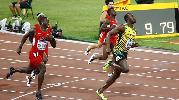 Bolt takes gold at IAAF World Championships in Beijing