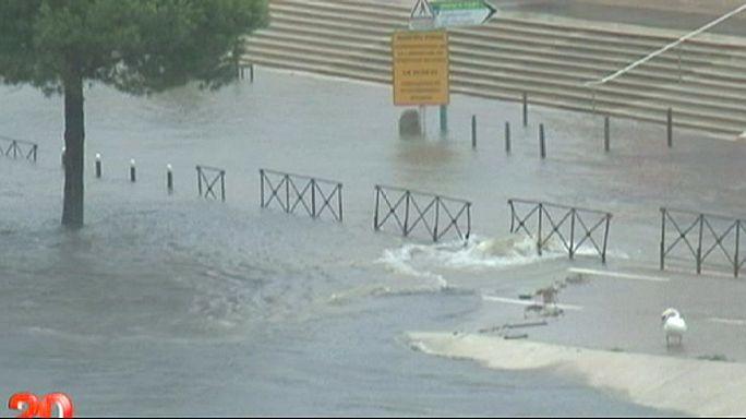 مقتل ثلاثة أشخاص إثر زوابع رعدية وأمطار غزيرة جنوب فرنسا